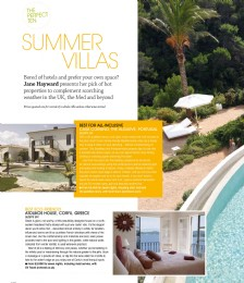 The Perfect Ten Summer Villas