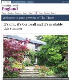 It's chic, it's Cornwall and it's available this summer