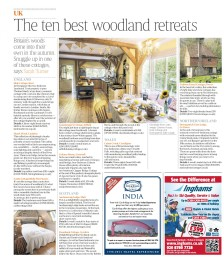 The Ten Best Woodland Retreats