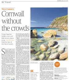 The Best Cornish Boltholes with Space