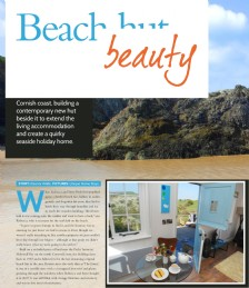 Beach Hut Beauty in Cornwall...