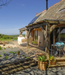 Oak Frame Barnhouse in Cornwall- A Case Study