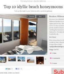 Top 10 idyllic luxury beach honeymoons