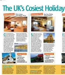 The UKs Cosiest Holiday Cottages