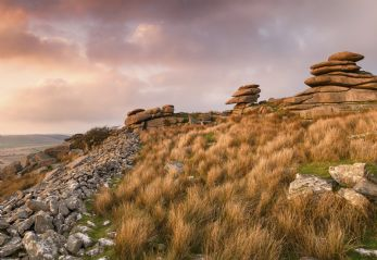 Bodmin Moor in Cornwall