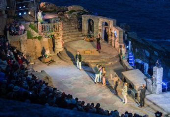 Visit the Minack Theatre in West Cornwall