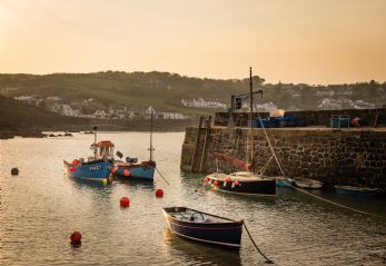 Coverack Cove Harbour